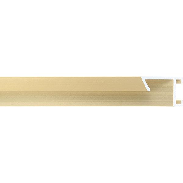 aicham larson juhl alu bilderrahmen serie 421 zuschnitt gold matt geb rstet. Black Bedroom Furniture Sets. Home Design Ideas