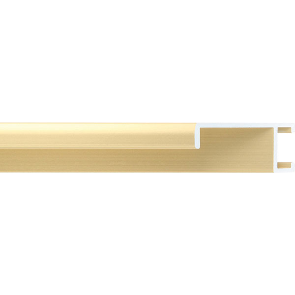 aicham larson juhl alu bilderrahmen serie 422 24x30 cm gold matt geb rstet. Black Bedroom Furniture Sets. Home Design Ideas