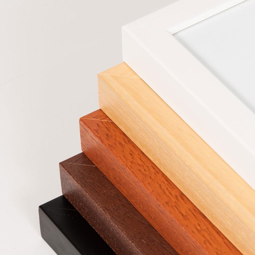 Bekannt Artvera-Bilderrahmen Signatur-Bilderrahmen aus Holz - DIN A4 21x29 VX48