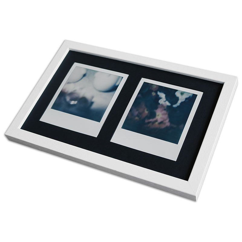 Artvera-Bilderrahmen Bilderrahmen für 2 Sofortbilder - Typ Polaroid ...