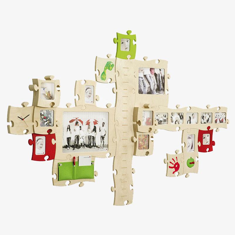 Countryliving Puzzle Rahmen 20x28 - natur | AllesRahmen.de