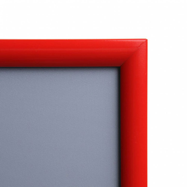Display Klapprahmen Color, 25 mm 29,7x42 cm (A3) - Verkehrsrot RAL ...