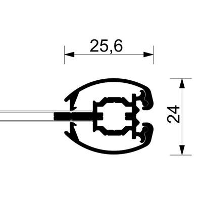 Display Doppelseitiger Klapprahmen 21x29,7 cm (A4) - Ecken auf ...