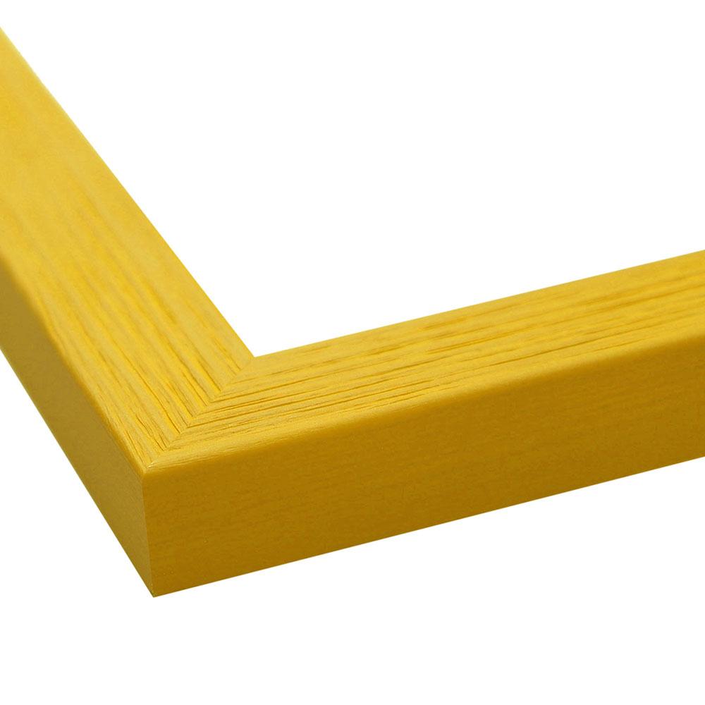 FDM Holzrahmen Boti 10x20 cm - Gelb | AllesRahmen.de