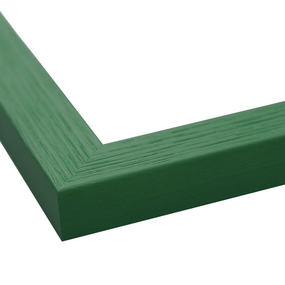 FDM Holzrahmen Boti 13x13 cm - Grün | AllesRahmen.de