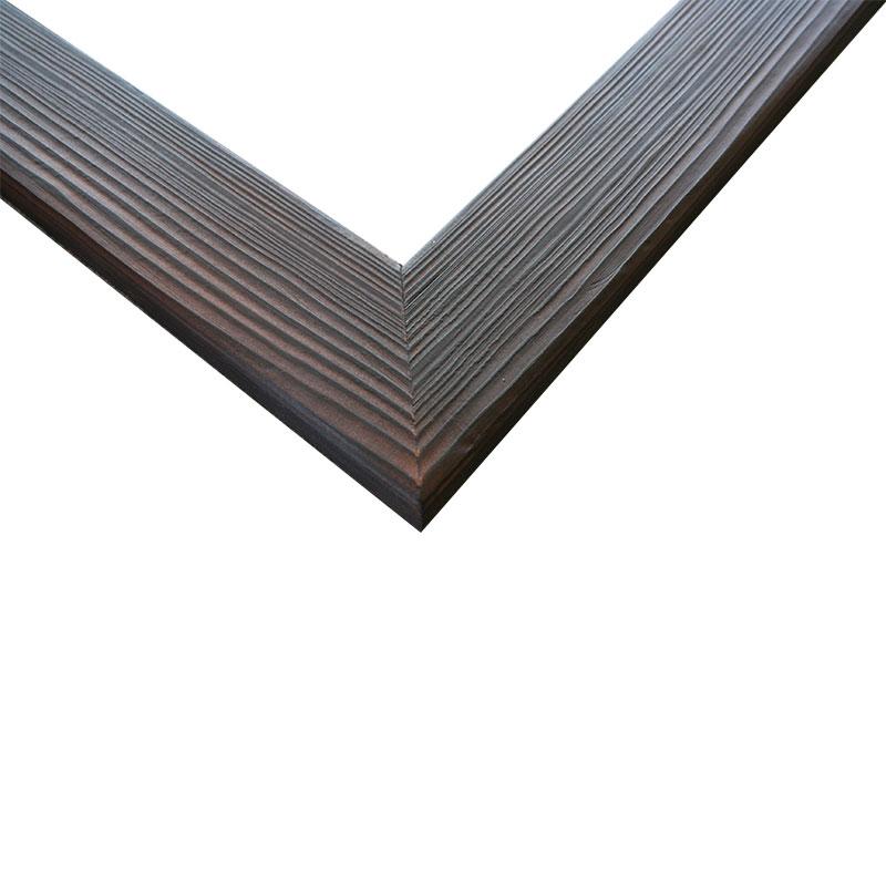 Gipfel-Design Holz-Bilderrahmen Hinterriß 30 18x24 cm - gebrannte ...