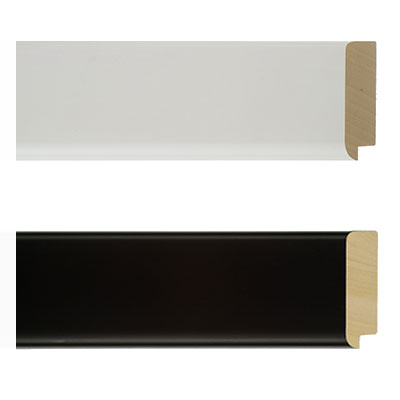 klueber gebira holzrahmen utrera nach ma schwarz. Black Bedroom Furniture Sets. Home Design Ideas