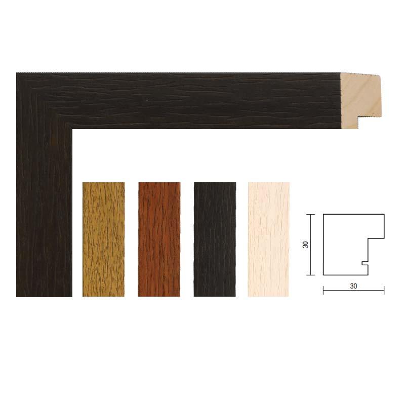 Mira Um-die-Ecke-Rahmen 2:1, breit 20x30 cm / 30x40 cm - Wengé ...