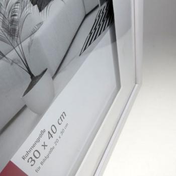 mira holzrahmen top cube mit passepartout 13x18 flieder. Black Bedroom Furniture Sets. Home Design Ideas