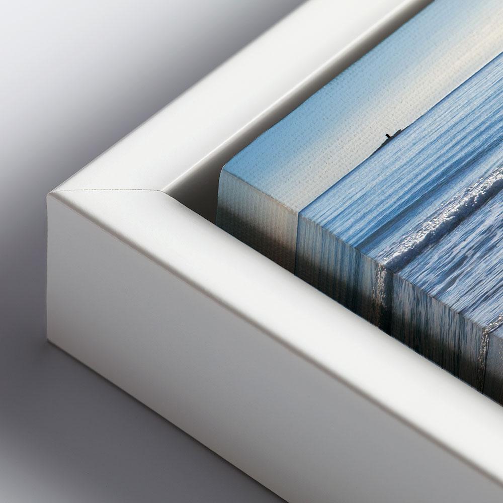 walther schattenfugenrahmen aus kunststoff 40x50 cm schwarz. Black Bedroom Furniture Sets. Home Design Ideas