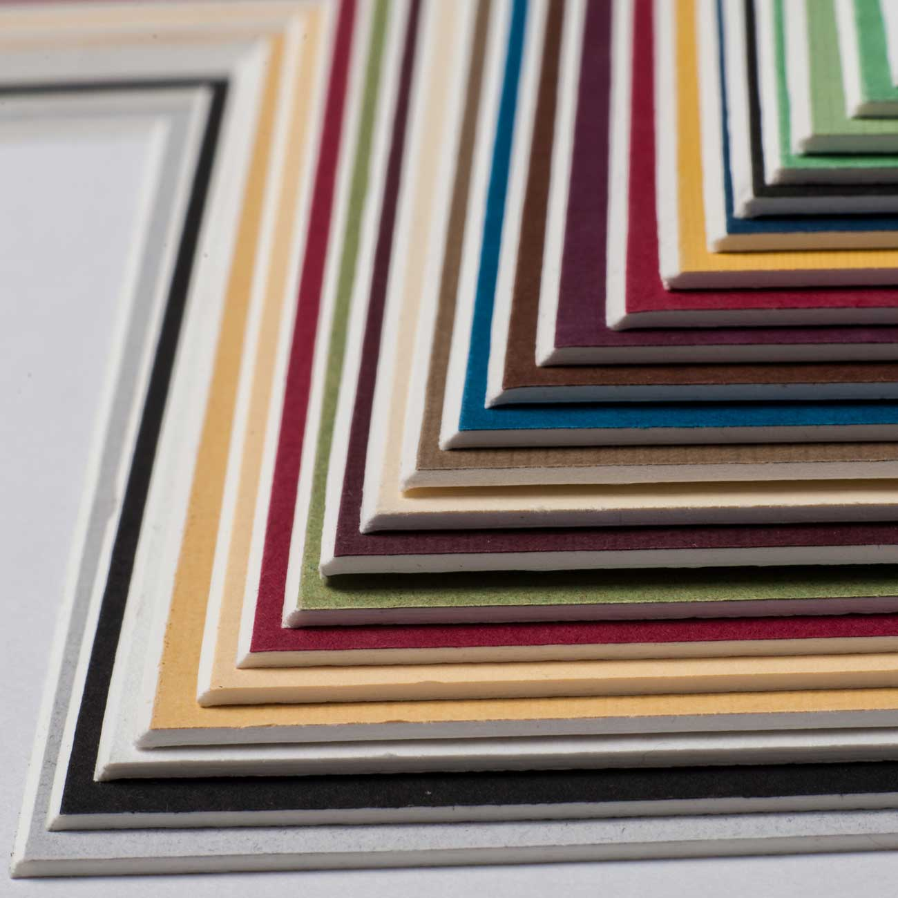 aicham larson juhl 1 4 mm whitecore passepartout als ma anfertigung rust. Black Bedroom Furniture Sets. Home Design Ideas