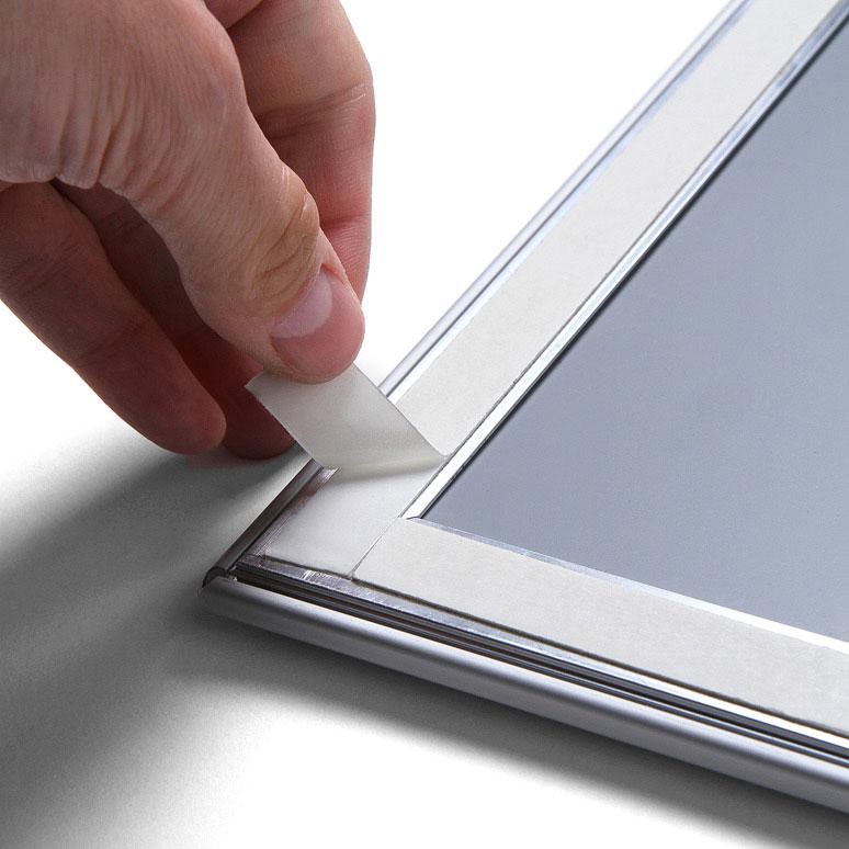 Display fenster klapprahmen 29 7x42 cm a3 ecken auf for Fenster 70x100