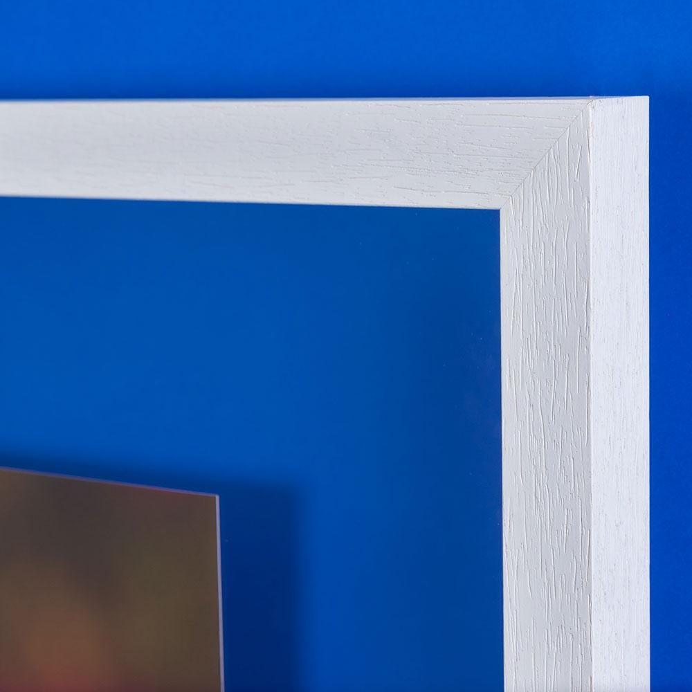 Mira Duplexo Doppelglas-Wandrahmen 40x60 cm - weiß | AllesRahmen.de