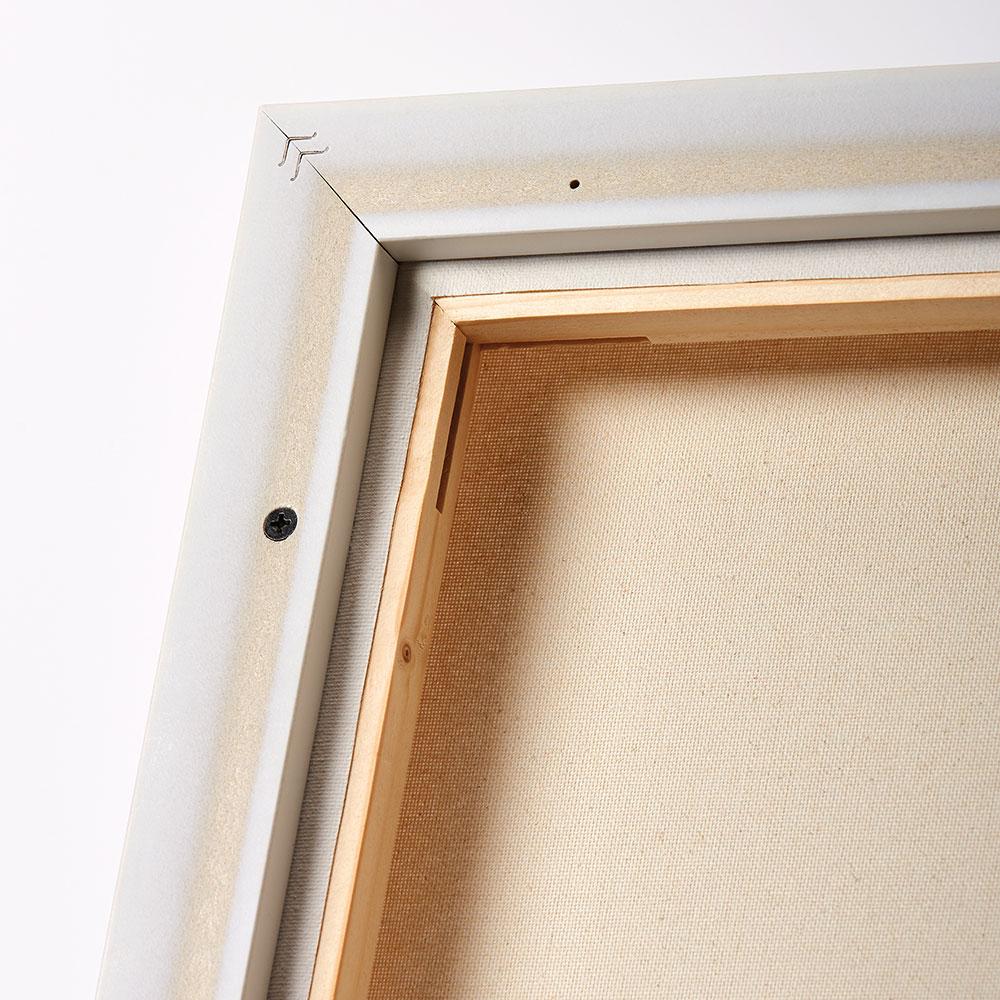 walther schattenfugenrahmen aus kunststoff 20x20 cm wei. Black Bedroom Furniture Sets. Home Design Ideas