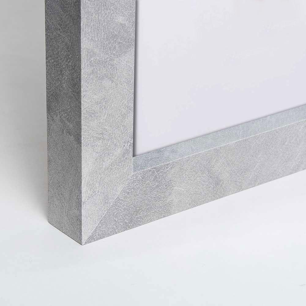 Bekannte Mira Holz-Bilderrahmen in Betonoptik 9x13 cm - Betonoptik IY72