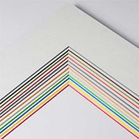 1,7 mm ColorCore Passepartout als Maßanfertigung
