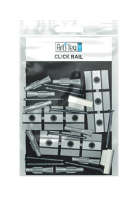 Set Befestigungsmaterial Click Rail
