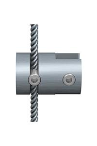 Klemme einzeln f�r 1,5 mm Seil