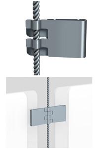 E-Clips f�r 1,8 mm Seil