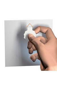 Klebehänger für Papier bis 100 g