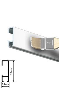 Click Rail - Weiß grundiert