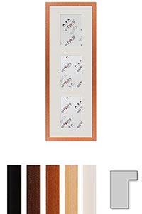 "3er Galerierahmen ""Lund"", 20x60 cm - 10x15 cm"