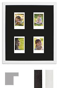 Bilderrahmen f�r 4 Sofortbilder - Typ Instax Mini