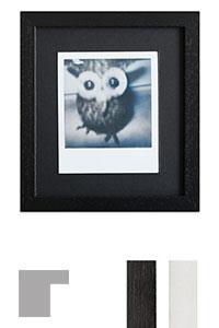 Bilderrahmen f�r 1 Sofortbild - Typ Polaroid 600