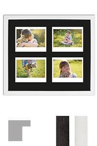 Bilderrahmen f�r 4 Sofortbilder - Typ Instax Wide