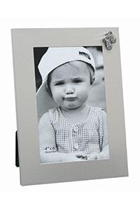 Kinder-Fotorahmen mit Kinderschuhen