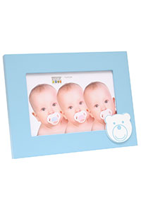Baby-Fotorahmen mit B�rmuster