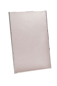 Men�kartenhalter aus Acryl zur Wandbefestigung