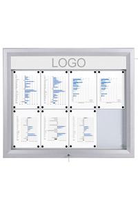 SCT - LED Premium Alu Schaukasten