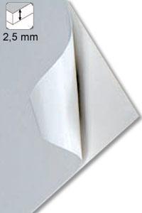 Selbstklebekarton  zum Kaschieren 2,5 mm