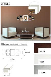 """Wandgalerie """"Sitzecke"""""""