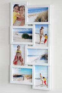 Galerierahmen f�r 8 Fotos
