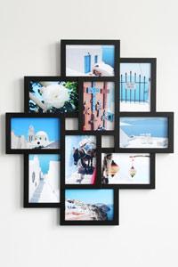 Galerierahmen f�r 10 Fotos