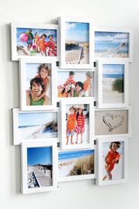 Galerierahmen f�r 12 Fotos