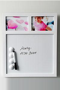 Memobaord f�r 2 Fotos 10x15 cm