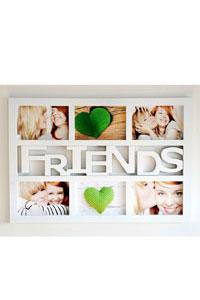 "Symbol Galerierahmen ""Friends"" f�r 6 Fotos"