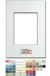 1,4 mm Passepartout mit individuellem Ausschnitt