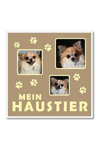 "Themen-Passepartout ""Haustier"""