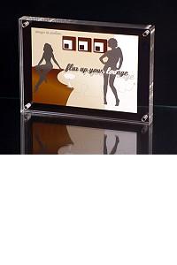 Frame aus Acrylglas f�r 10 x 15 cm