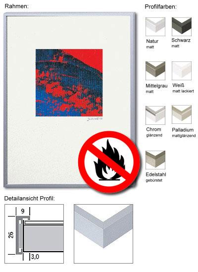 Zertifizierter Premium Brandschutzrahmen B1