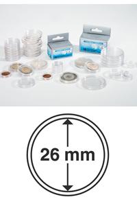 M�nzkapseln Innendurchmesser 26 mm