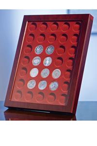 Münzrahmen LOUVRE für ungekapselte 2-EURO-Münzen