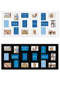 Pixel Galerierahmen mit 18 Bildausschnitten