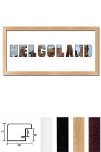 """Regiorahmen """"Helgoland"""" mit Passepartout"""