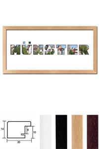 """Regiorahmen """"Münster"""" mit Passepartout"""