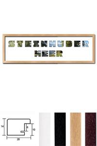 """Regiorahmen """"Steinhuder Meer"""" mit Passepartout"""